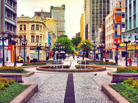 Curitiba retorna ao estado de Bandeira laranja