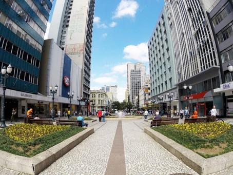 Curitiba volta para a bandeira laranja