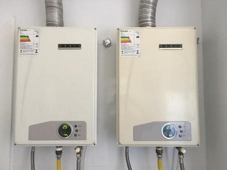 Manutenção de aquecedores de passagem nos apartamentos