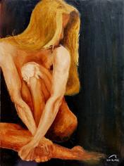 Dancer at rest