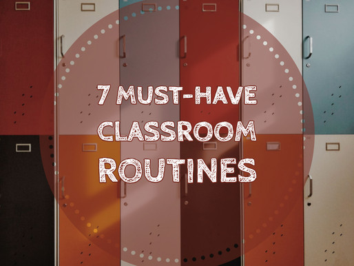 7 routines you need to teach (and reteach) in your high school classroom ASAP