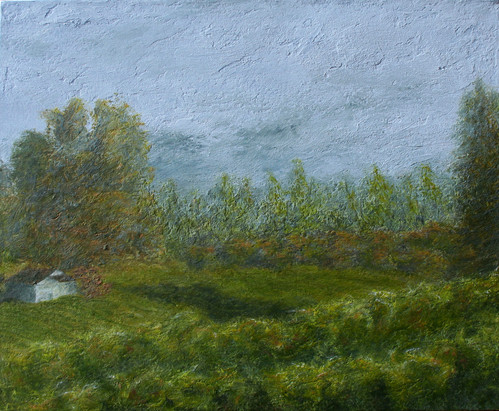 Vineyard Awaiting Mist