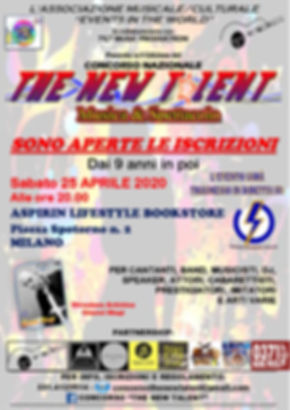 LOCANDINA TAPPA TNT MILANO 25.04.2020 -