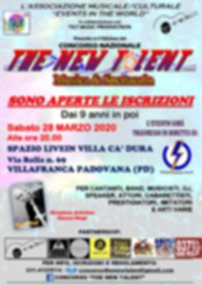 LOCANDINA TAPPA TNT PADOVA 28.03.2020 -