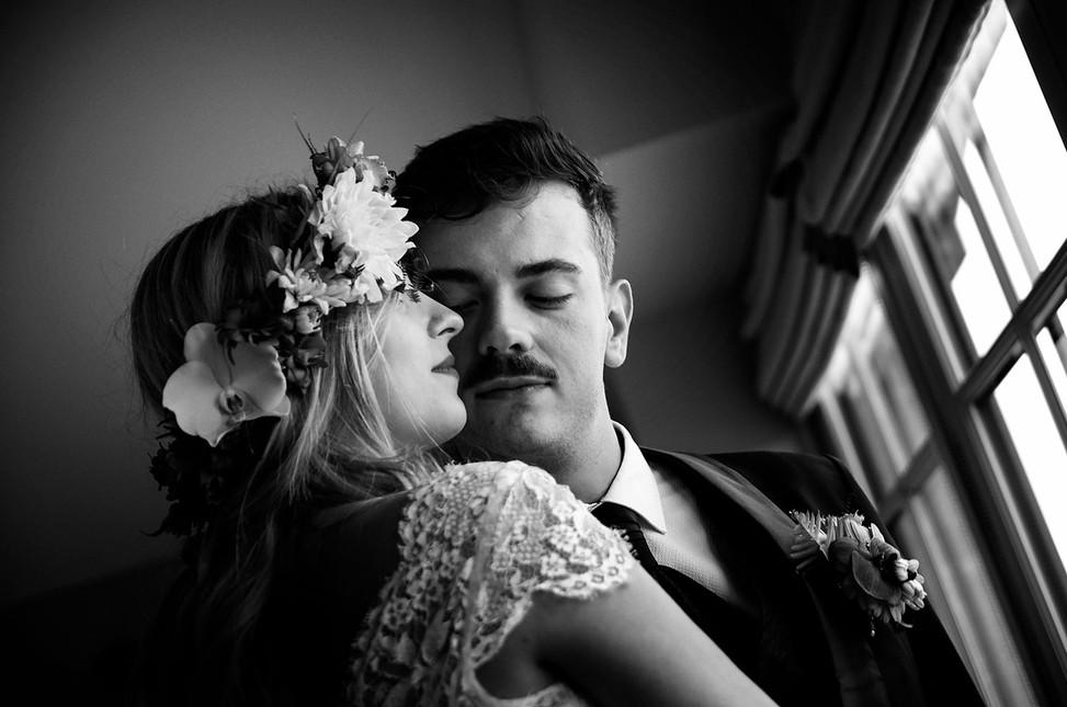 portrait des mariés médoc