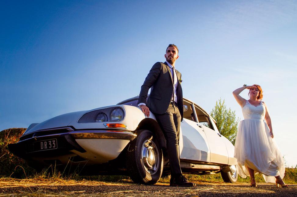 portrait des mariés langon