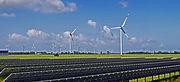 Luftaufnahmen Drohne Bilder Videos Fulda Hessen Frankfurt Solarpark Windräder Inspektion