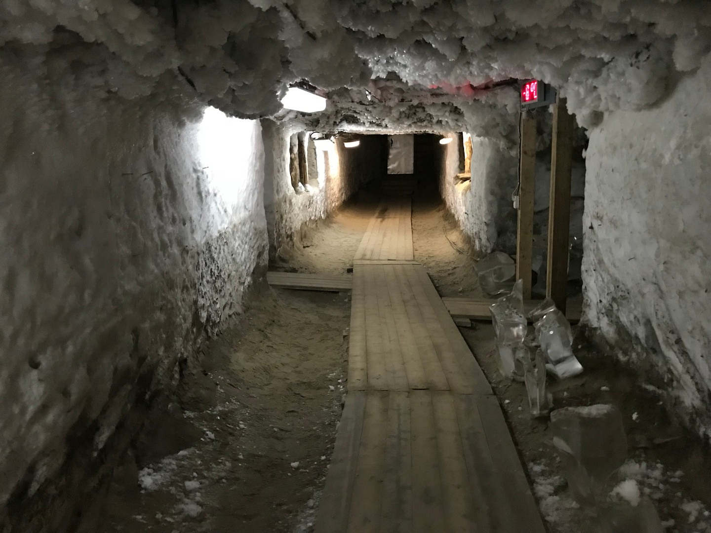 Permafrost Tunnel in Yakutsk