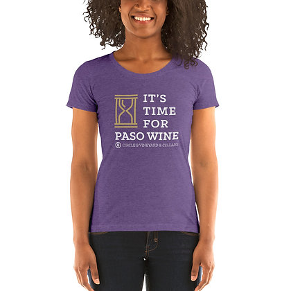 Time for Paso Wine Women's Tee