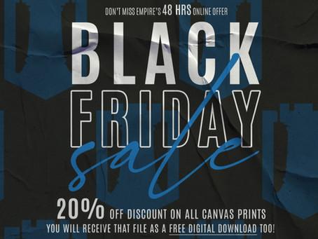 Black Friday Canvas Specials!
