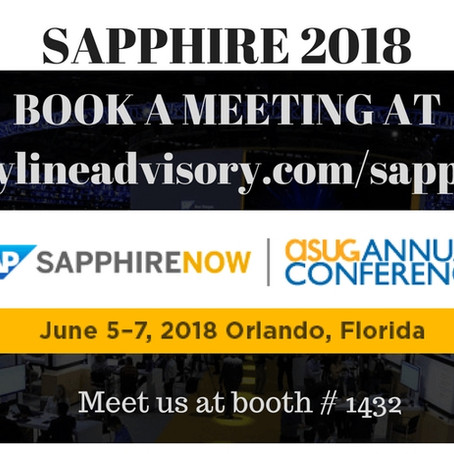 Sapphire Booth And Meeting Request Page Is Live