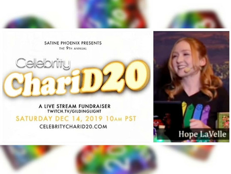December 14th, 2019 - Celebrity Charity Event