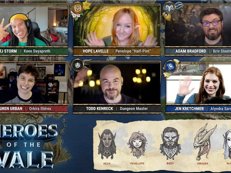 October 31st, 2018 - Heroes of the Vale