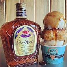 Whiskey Maple Donut