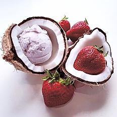 Vegan Strawberry Coconut