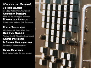 Tape Op Magazine features Devin Greenwood on mixing a Broken Orchestra