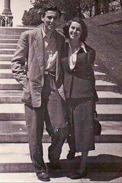 Oskar and his wife, Lila