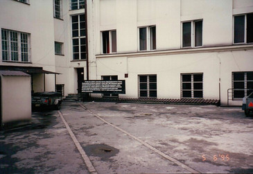 Courtyard of the Nazi Gestapo
