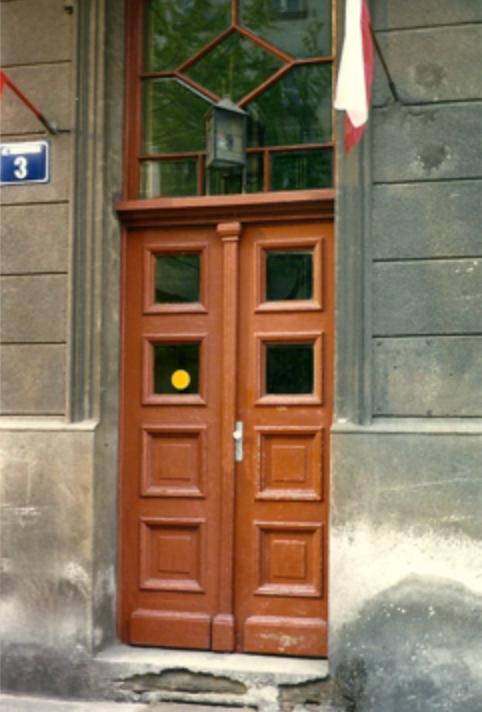 The escape door