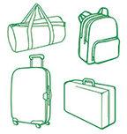 מזוודות ותיקי נסיעה, תרמילים ותיקי גב