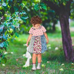 Little Girl Boho Dress Mock-up