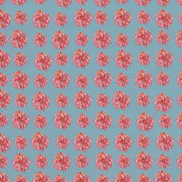 Elegant Christmas Red Poinsettia Grid