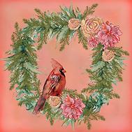 Elegant Christmas Cardinal.png