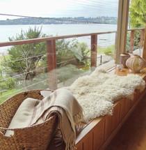 Vista al lago Llanquihue