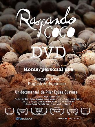 Raspando coco 1 poster DVD home .jpeg