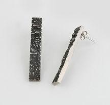 Pendientes Moss plata- elenaperezjoyas.com