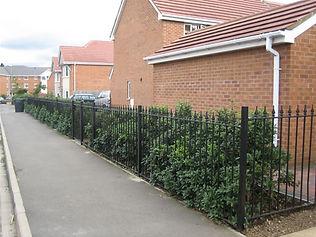 steel metal fencing bedford bedfordshire