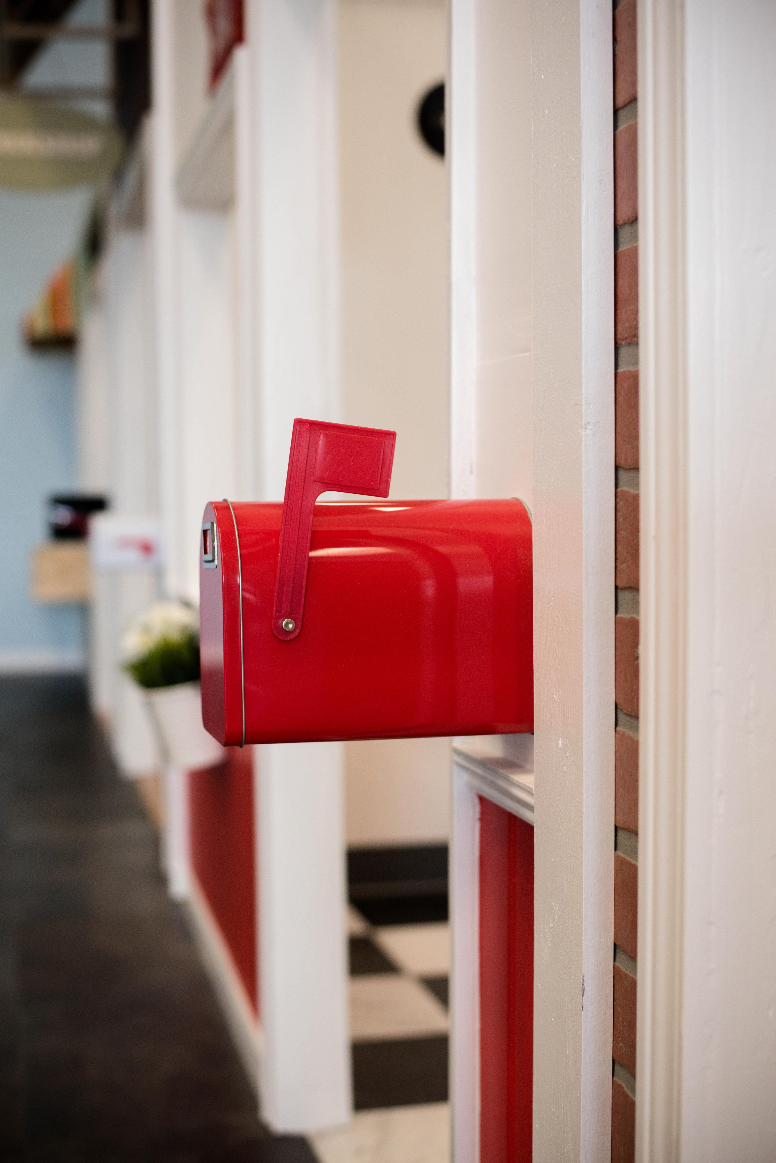 Diner Mailbox