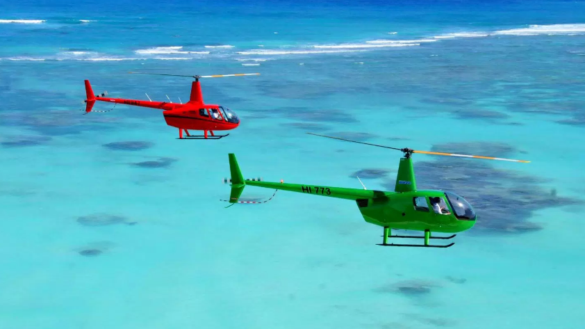 Helicopter Island Tour