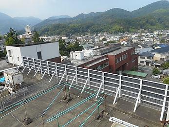 リフォーム本舗リファイン病院屋上の雨漏り修理(before)