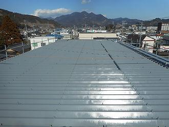 リフォーム本舗リファイン工場トタン屋根塗装(after)