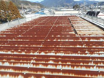 リフォーム本舗リファイン工場トタン屋根塗装(before)
