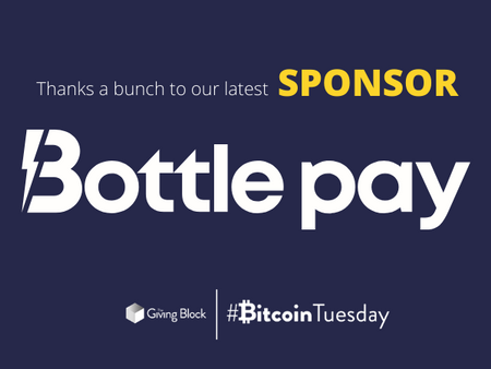 The Giving Block & Bottle Pay Partner to Bring Lightning Donations to Nonprofits