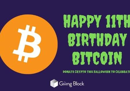 Happy Birthday Bitcoin: Let's Donate Crypto to Celebrate!