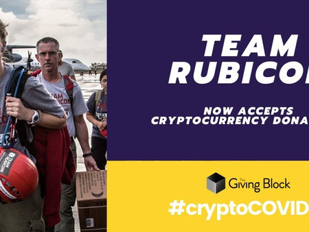 Team Rubicon Accepts Cryptocurrency Donations via The Giving Block