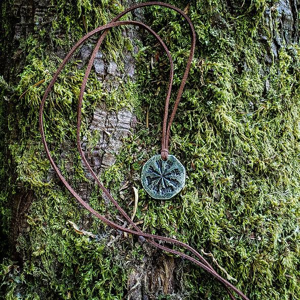 Viking compass (Vegvísir)