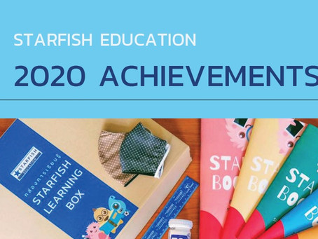 Starfish Education - Achievements in 2020
