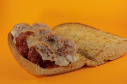 Hot Meatball With Cheese