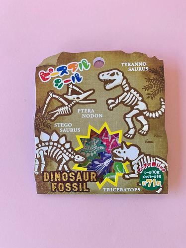 Dino Confetti Stickers