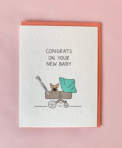 New Puppy Card