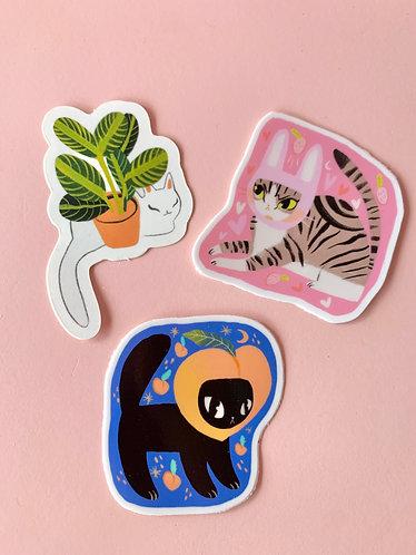 Mini Cat Stickers