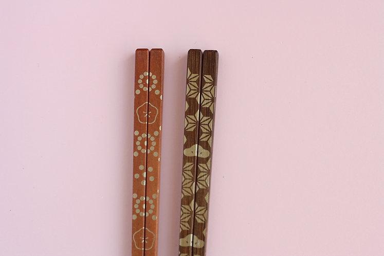 Gold Stamped Chopsticks