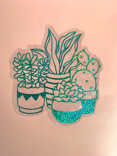 Plants Window Cling