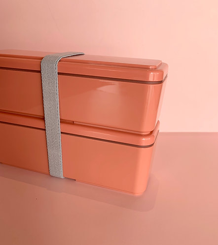 Cool Gel Pink Double Stack Bento