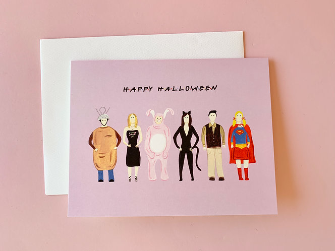Happy Halloween Card (Friends)