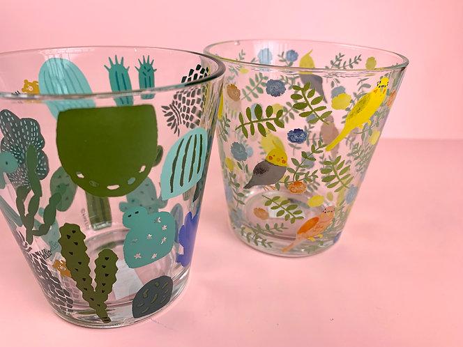 Cactus and Bird Tumblers